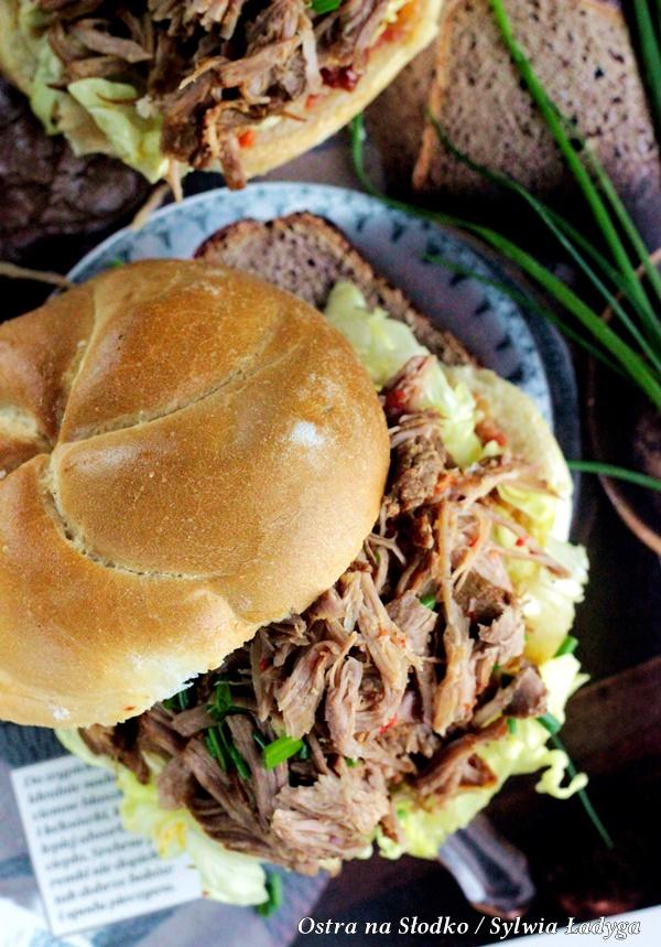 pulled pork , szarpana wieprzowina , wyczesana wieprzowina , ostra na slodko , sylwia ladyga , gerlach szybkowar (1)xx