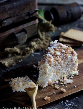 rafaello na krakersach , ciasto budyniowe  ciasto bez pieczenia , rafaello bez pieczenia , ostra na slodko , sylwia ladyga  ,blog kulinarny , pyszne ciasta bez pieczenia , ciasta z kremem , ciasto kokosowe , blog z ciastami , sylwia masterchef