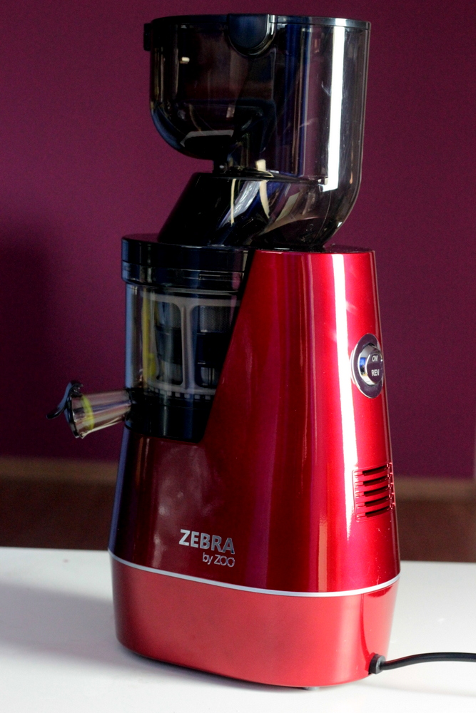 Zebra Whole Slow Juicer Test : ZEBRA WHOLE SLOW JUICER - test wyciskarki wolnoobrotowej