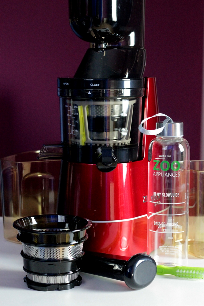 Versapers Slow Juicer Test : ZEBRA WHOLE SLOW JUICER - test wyciskarki wolnoobrotowej